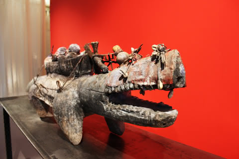 Crocodile - Château Musée Vodou à Strasbourg