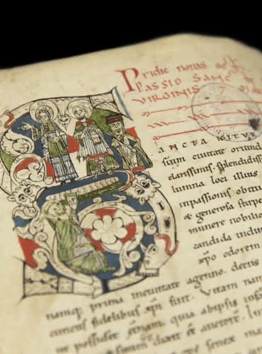 Livre des miracles de Sainte Foy - Bibliothèque Humaniste