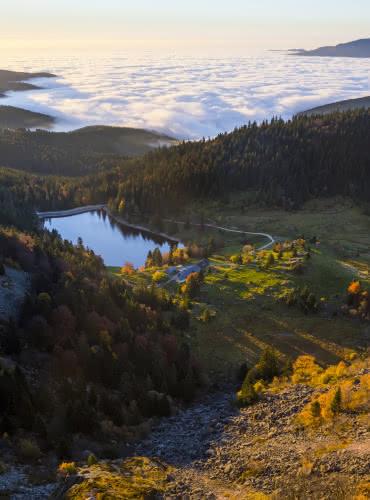 Lac du Forlet - Massif des Vosges