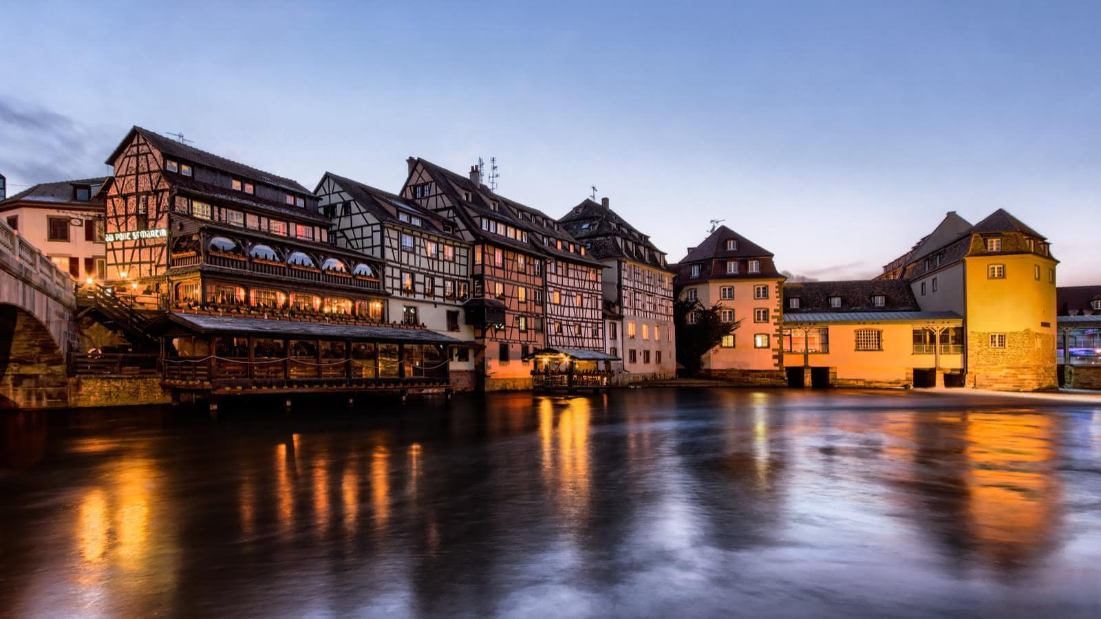 Maisons à colombages - Petite France - Strasbourg