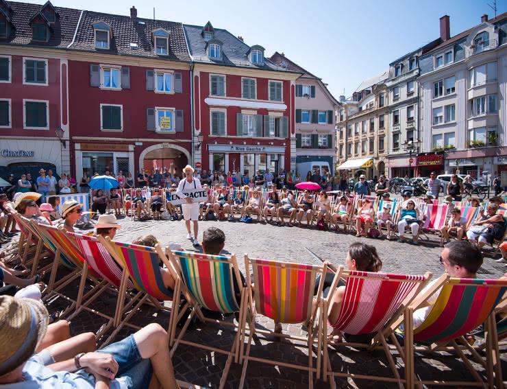 Scène de rue - Mulhouse