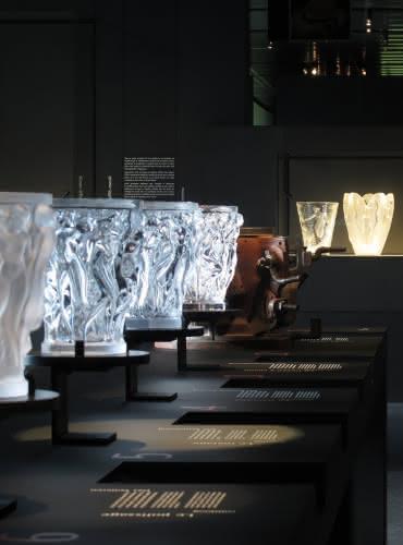 Vases Bacchantes - Musée Lalique