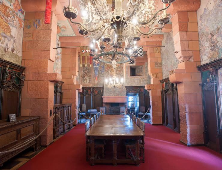 La salle Kaiser - Château du Haut-Koenigsbourg