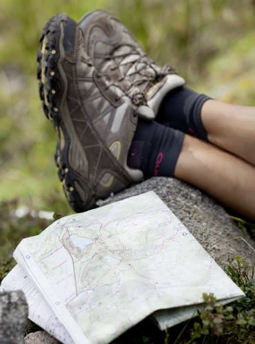 Carte de randonnée