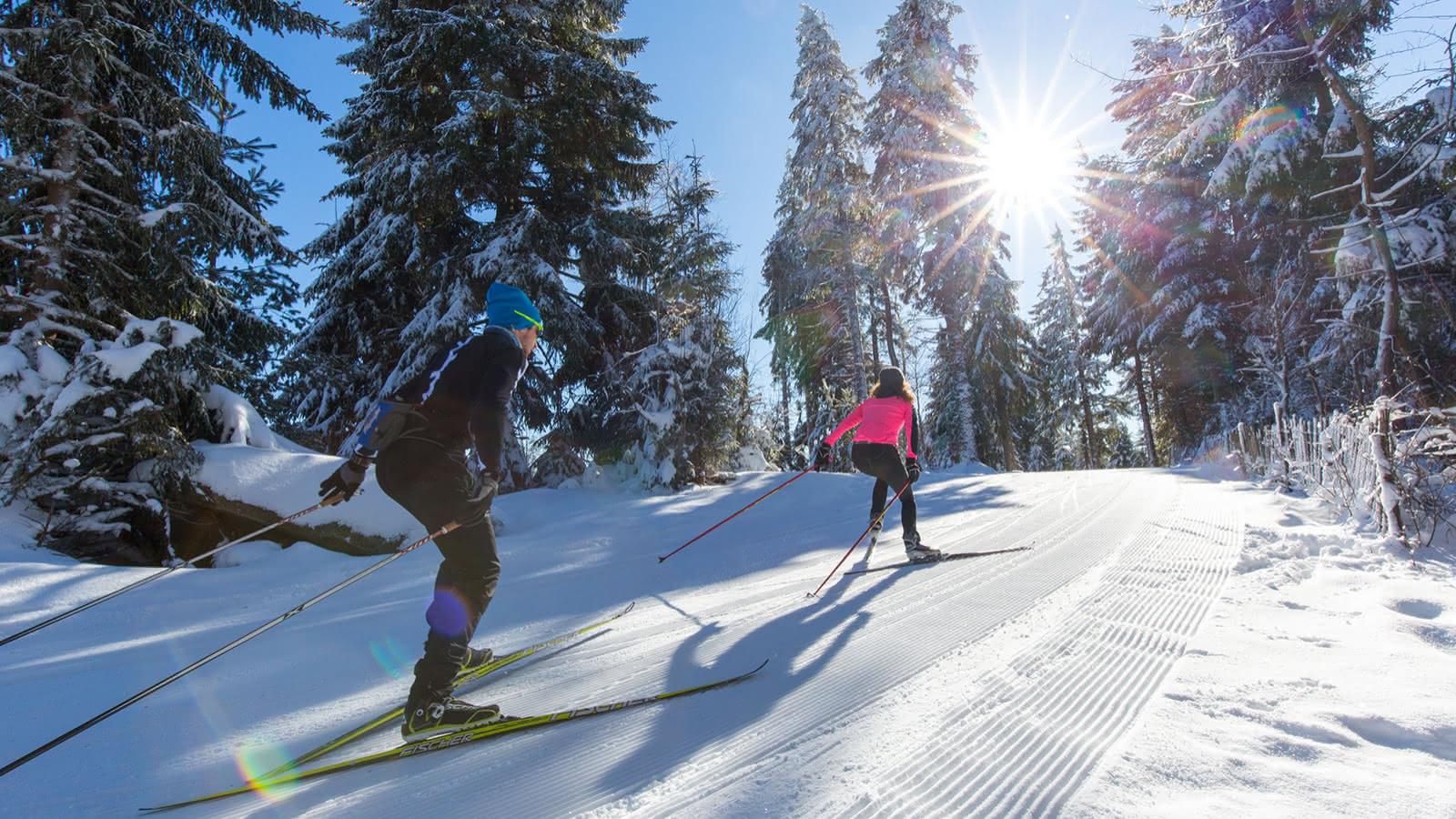Ski nordique au Lac Blanc