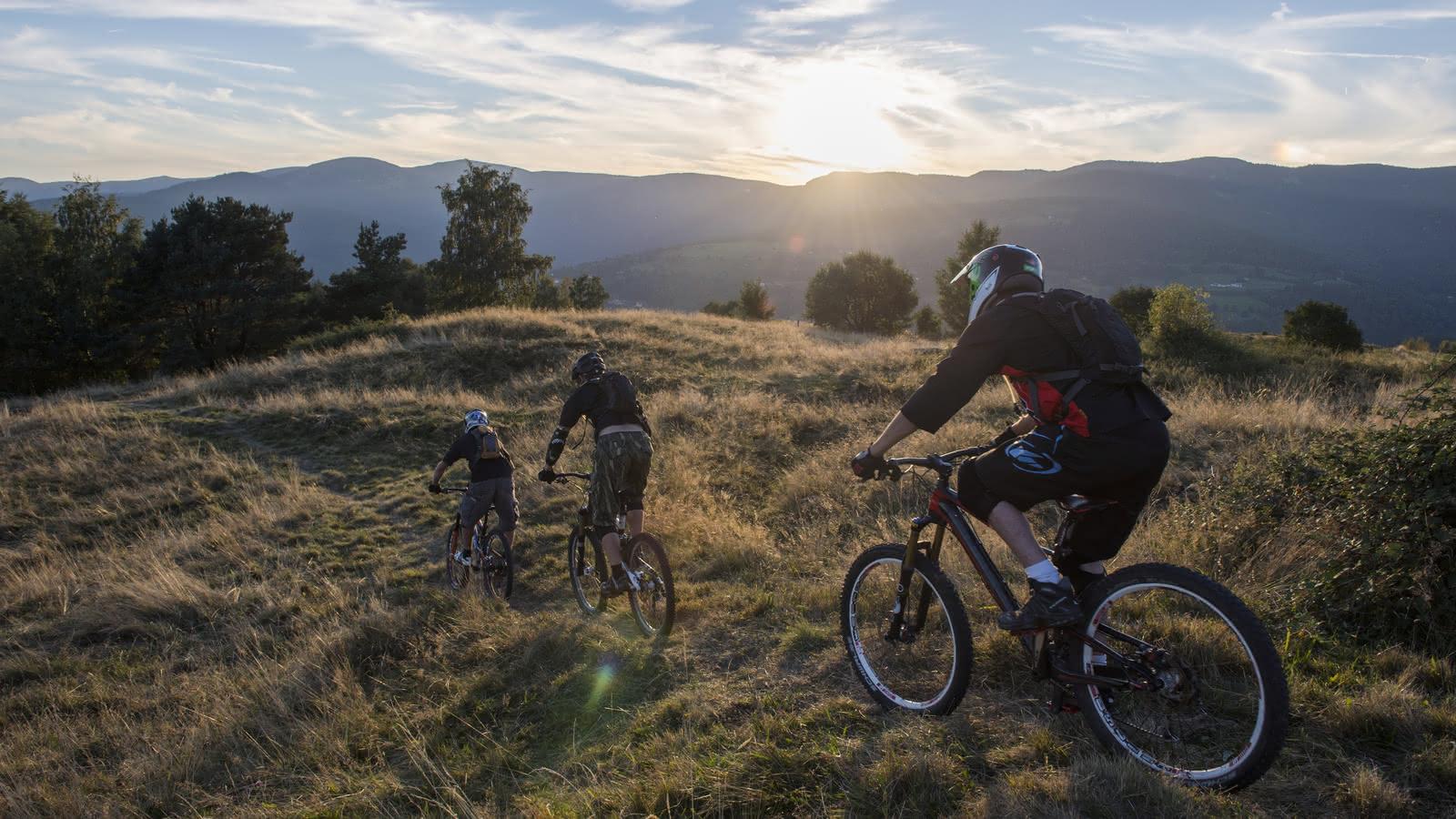 VTT dans le massif des Vosges