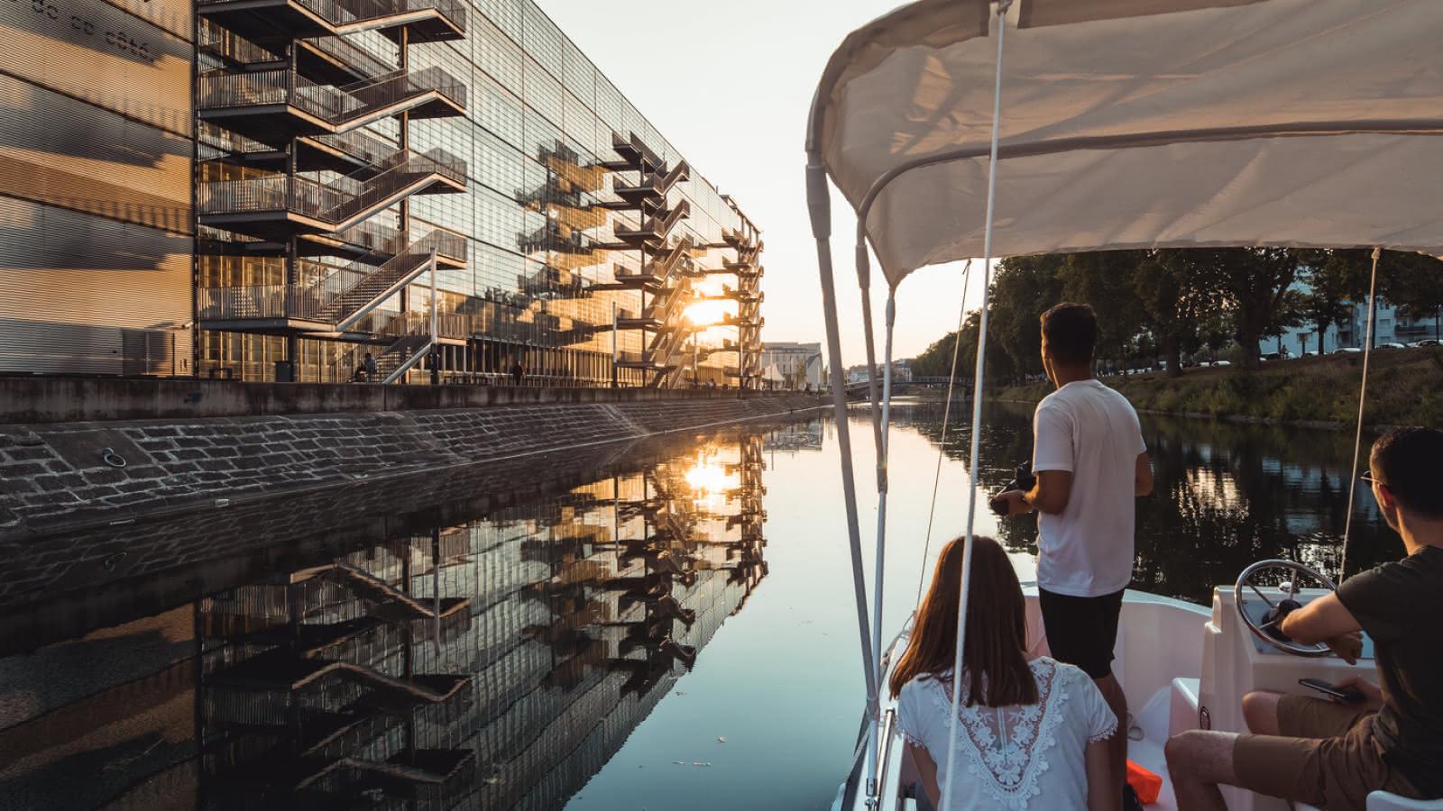 Strasbourg en bateau