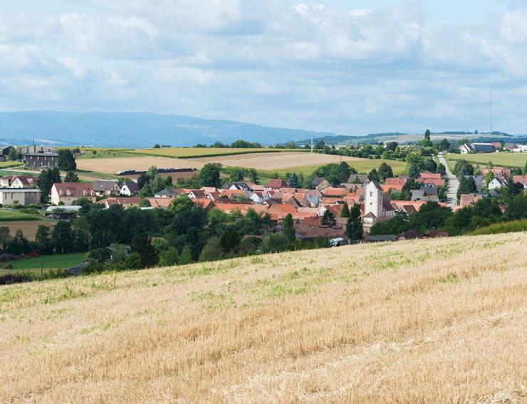 Kienheim dans le Kochesberg