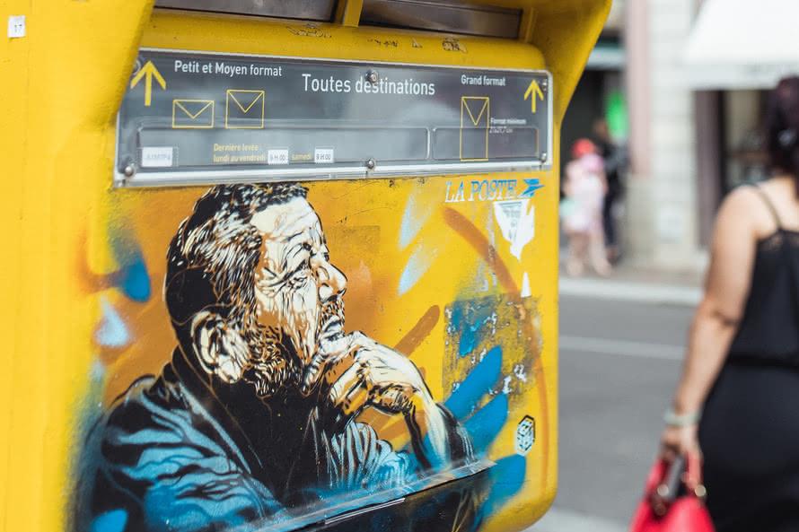 Boite aux lettres - C215 - Mulhouse