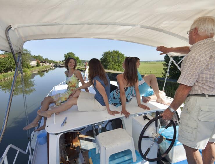 Tourisme fluvial Alsace Bossue