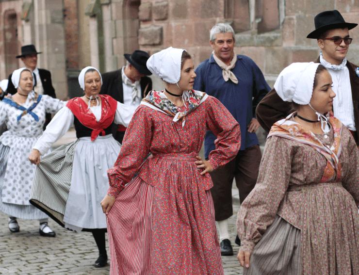 Costumes traditionnels - Transhumance