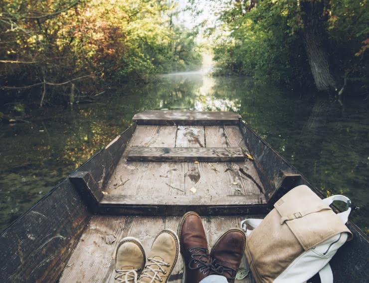 Barque à fond plat - Grand Ried