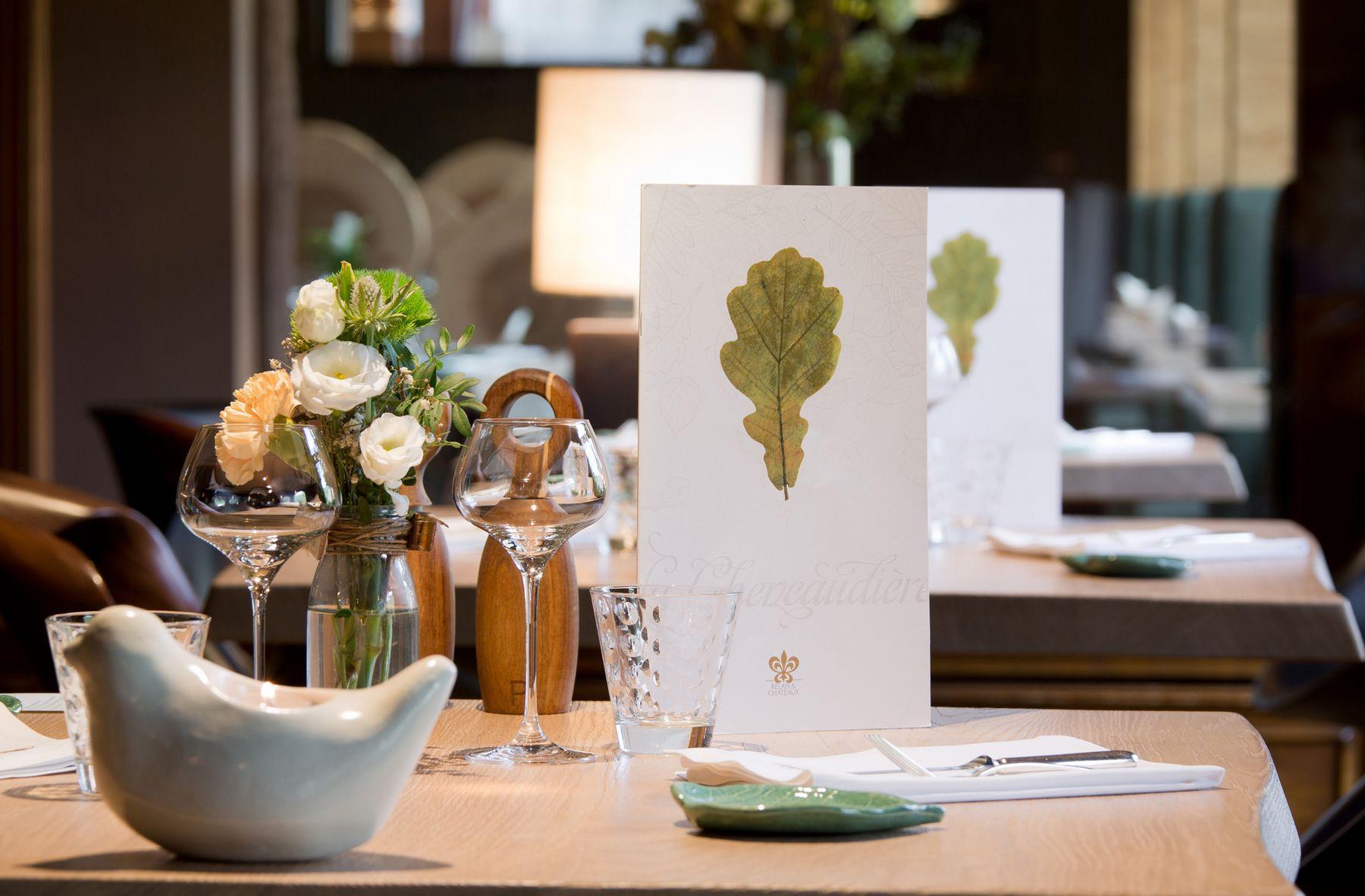 Restaurant La Cheneaudière © Jérôme Mondière