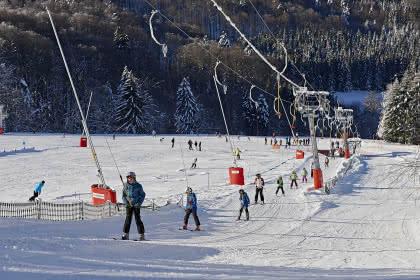 Ski alpin au Champ du Feu