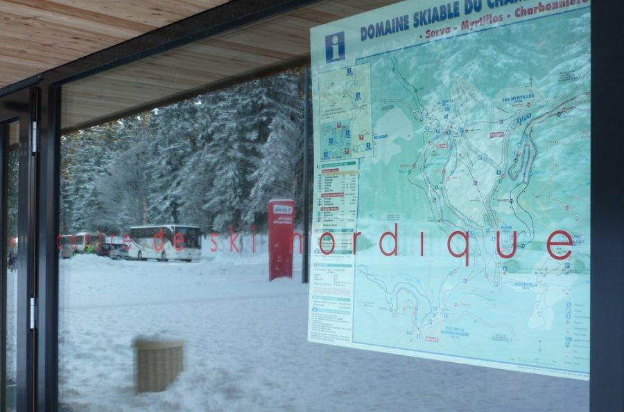 Centre école ski de fond au Champ du Feu