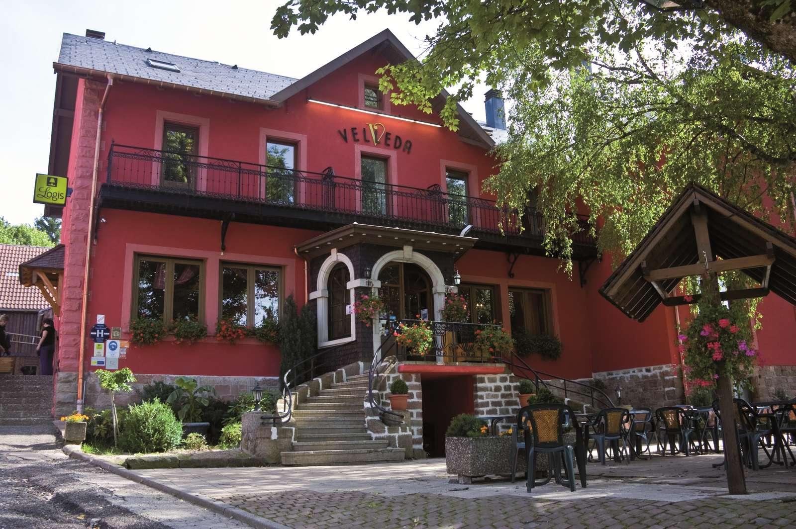 Hôtel-restaurant Le Velleda. Crédit photos : Septième Scène