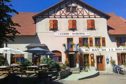 La Ferme auberge du Ban de la Roche à Bellefosse, proche du Champ du Feu