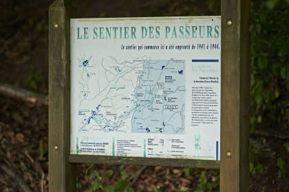 Sentier des passeurs de Salm à Moussey © OTVB / Stéphane SPACH