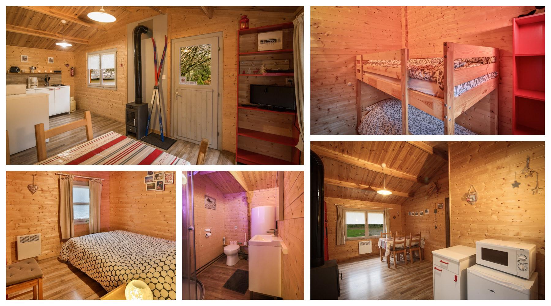 Chalets en location au Camping au bord de Bruche