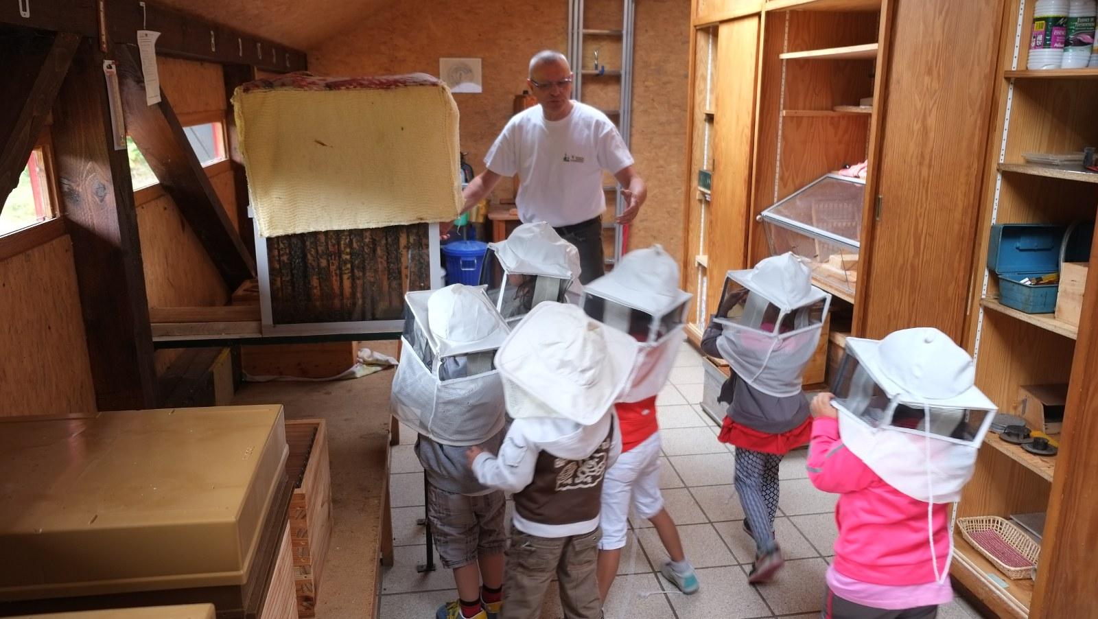 Portes ouvertes à l'Espace apicole