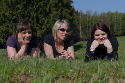 Françoise LEDIG, Priscilia KRAUSHAR, Audrey BERNARD