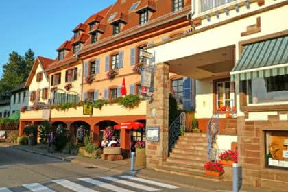 Hôtel-restaurant Les Vosges, La Petite Pierre, Alsace / www.hotel-des-vosges.com
