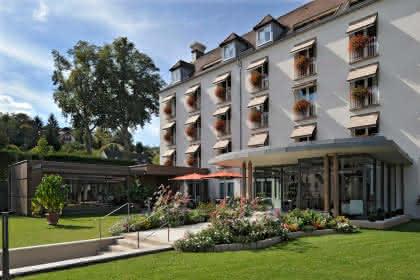 Hôtel Muller, Niederbronn-les-Bains, Alsace, vue extérieure