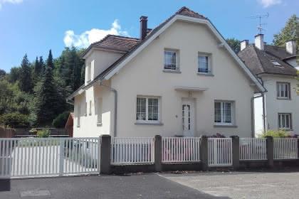 Meublé de M. Cordary, Niederbronn-les-Bains, Alsace, vue extérieure