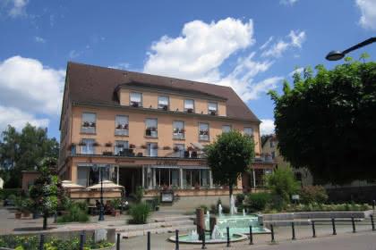 Restaurant Le Bristol, Niederbronn-les-Bains, Elsass, Außenansicht