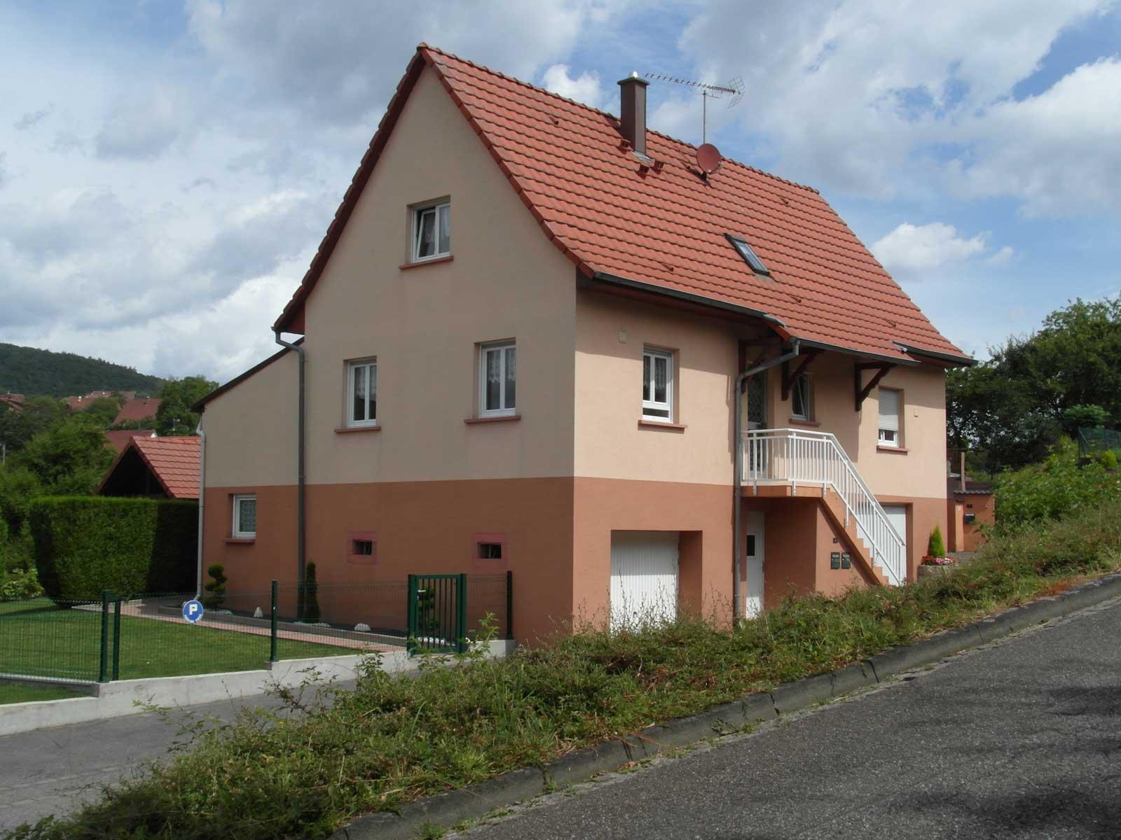 Meublé de M. Rickling, Niederbronn-les-Bains, Alsace, vue extérieure