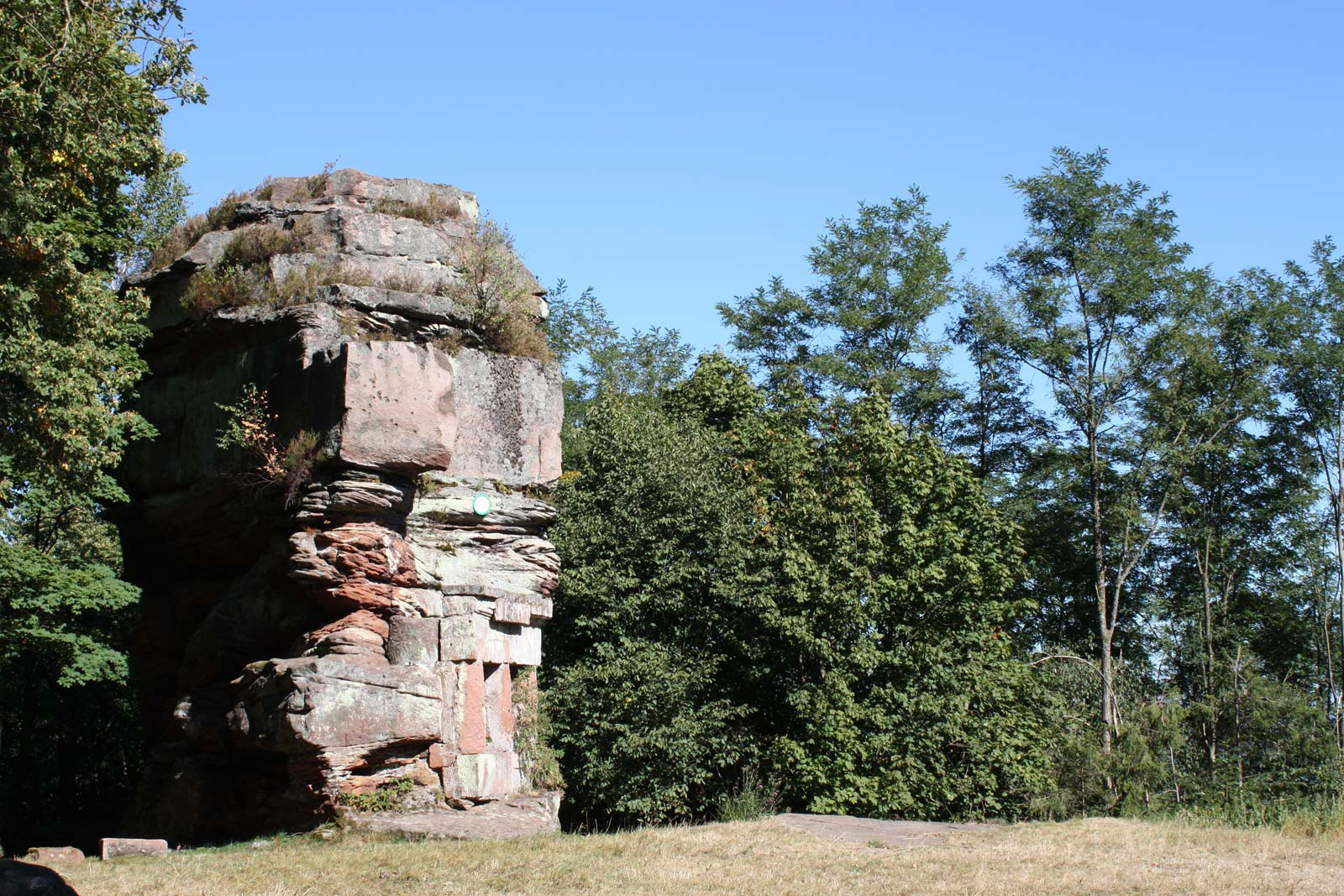 Le Wachtfelsen, Niederbronn-les-Bains, Alsace