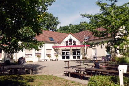 Centre international de rencontre Albert Schweitzer, Alsace, vue extérieure