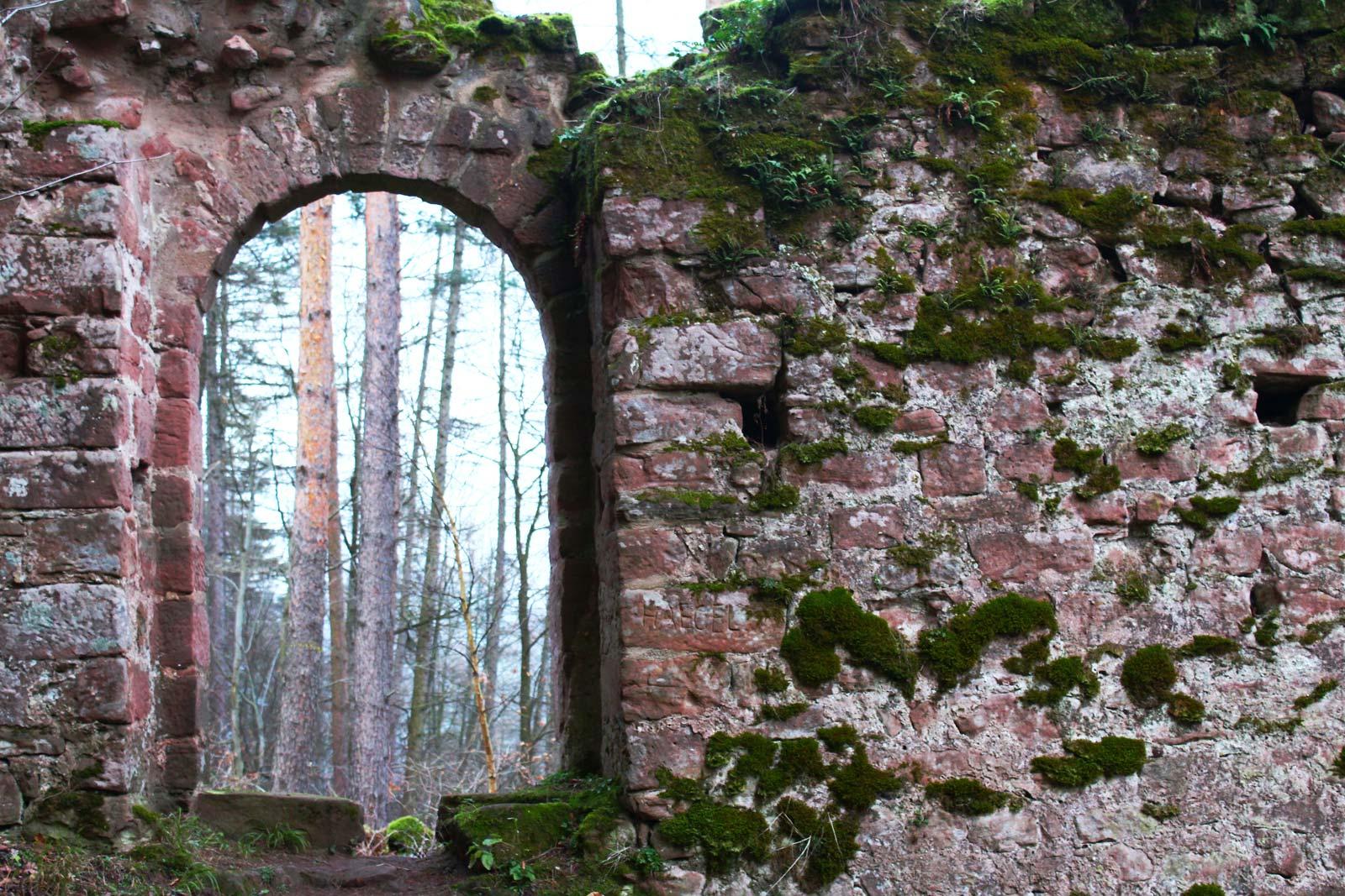 Château du Wineck-Schmalstein, Dambach, Alsace