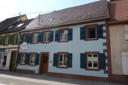 Meublé de M. Haibach, Niederbronn-les-Bains, Alsace, vue extérieure