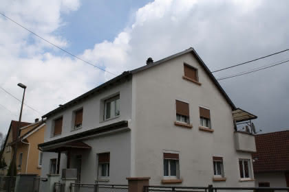 Meublé de M. Ketterer, Niederbronn-les-Bains, Alsace, vue extérieure