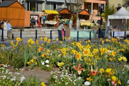 L'artisanat local présent pour Pâques, Niederbronn-les-Bains