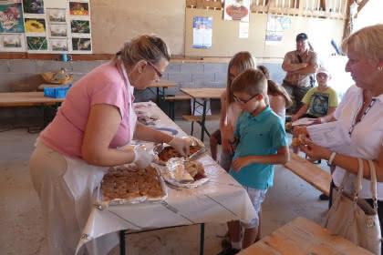 Découverte de la production du foie gras, Eberbach-les-Woerth