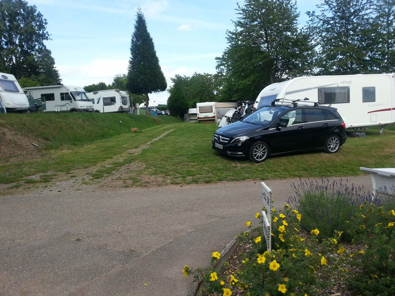 Camping du Heidenkopf, Niederbronn-les-Bains, Alsace, aire de service artisanale pour camping-car