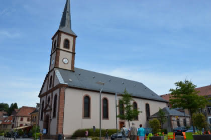 Eglise St Jean, Niederbronn-les-Bains, Alsace