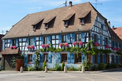 Restaurant Le Cygne, Gundershoffen, Alsace