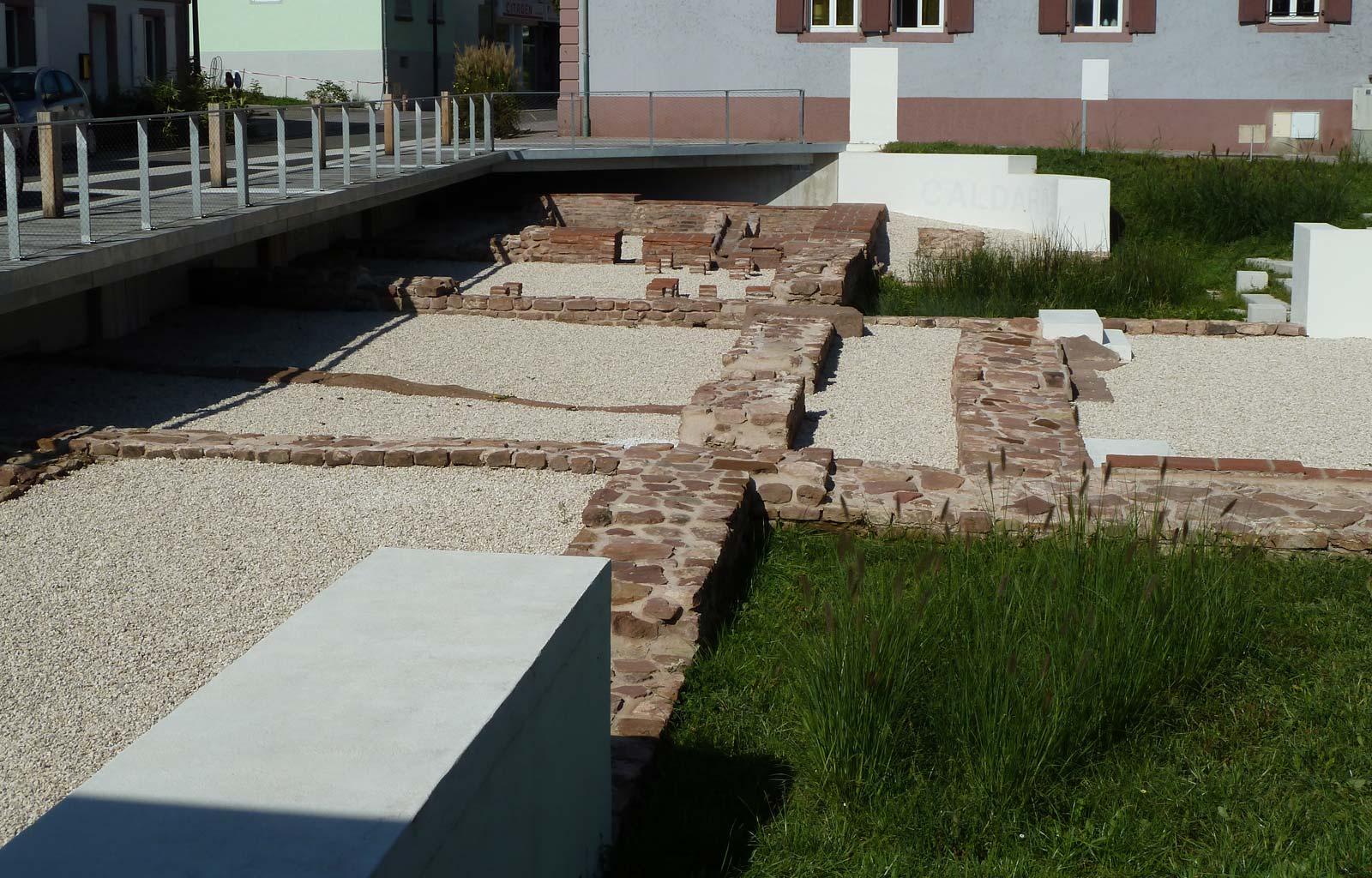 Vestiges des thermes Gallo-romain