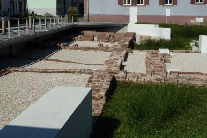 Vestiges des thermes Gallo-romain, Niederbronn-les-Bains, Alsace