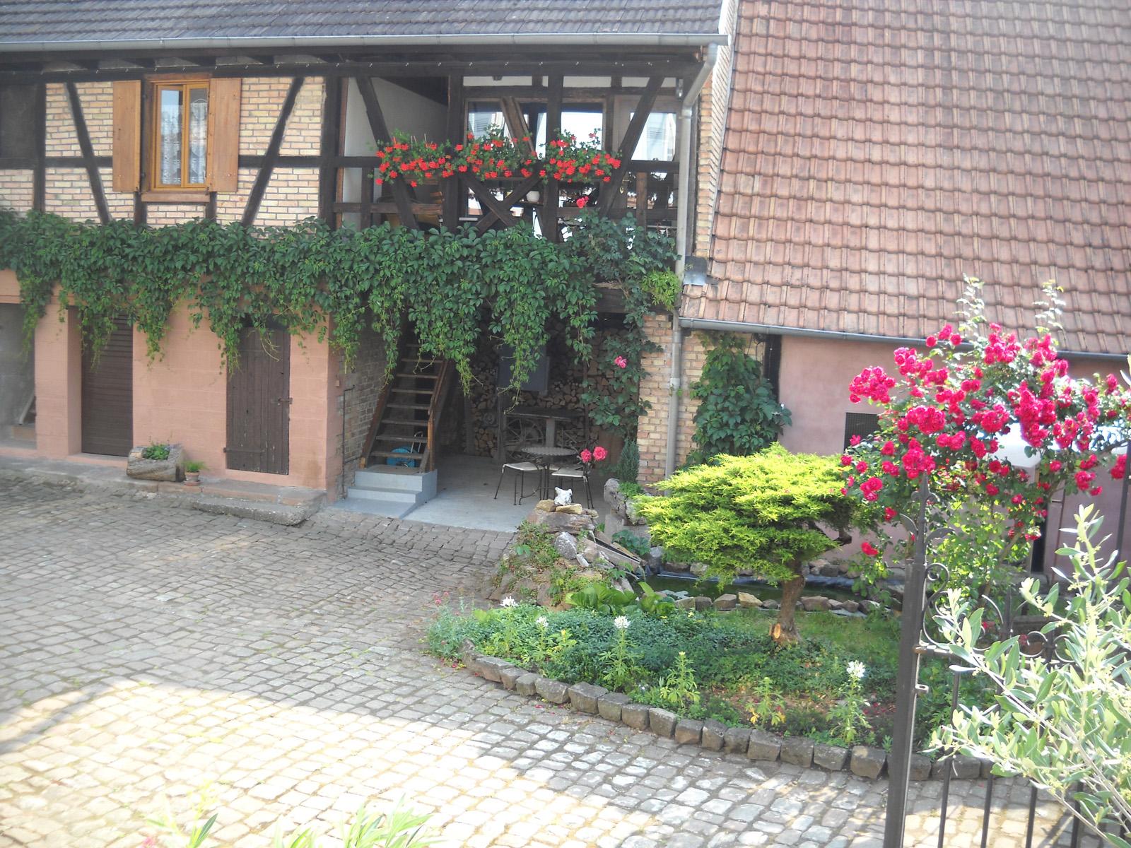 Meublé de M. Leininger, Mietesheim, Alsace