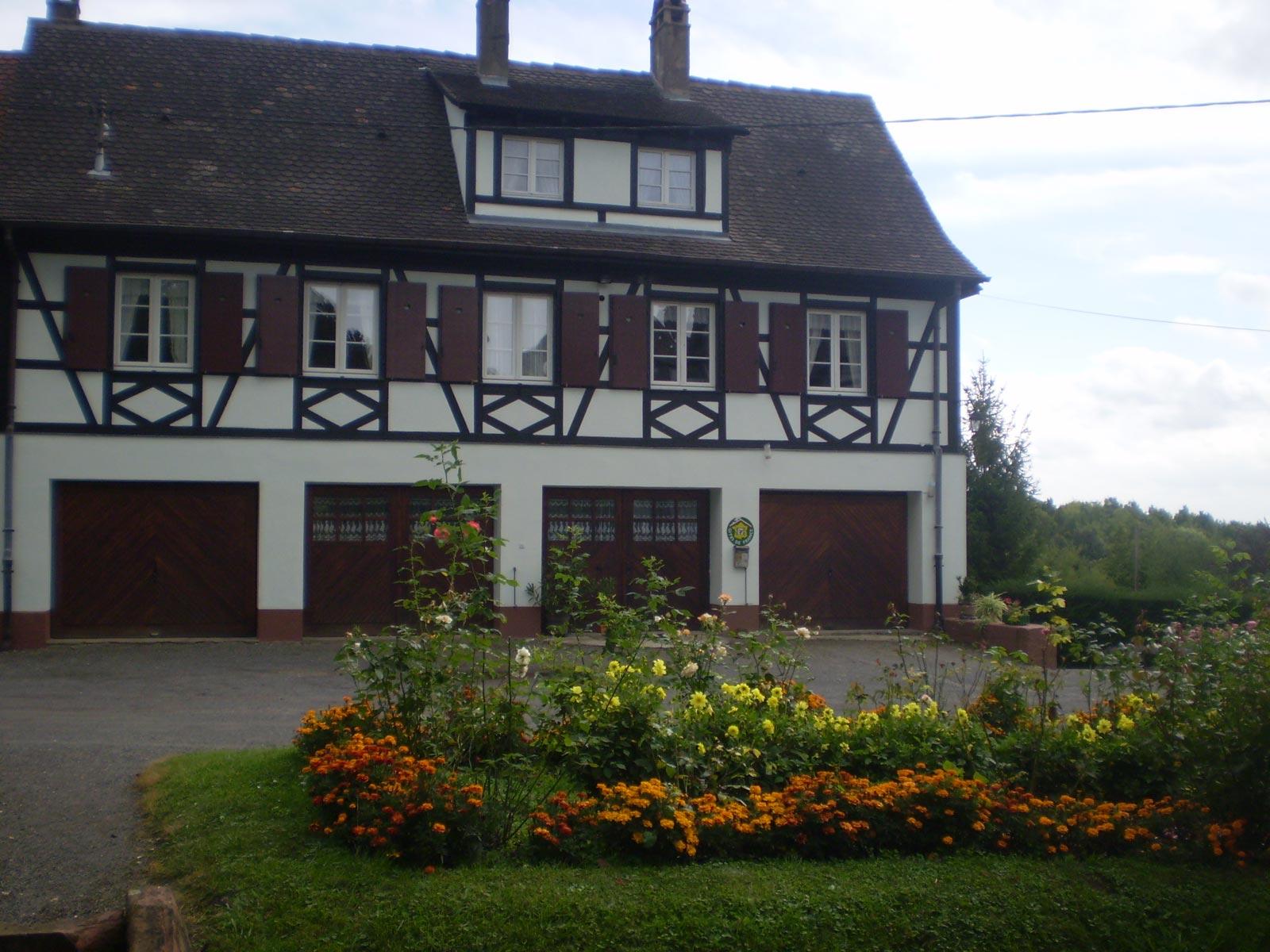 Gîte de France n° 1410, Niederbronn-les-Bains, Alsace, vue extérieure