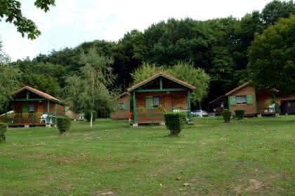 Camping-caravaning l'Oasis, Oberbronn, Alsace, hameau du bois doré