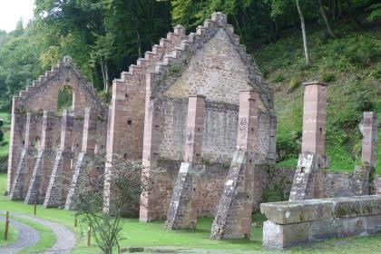 Vestiges des forges de Jaergerthal, Alsace