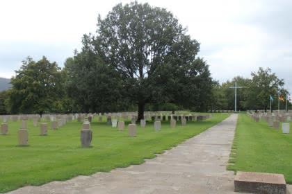 Visite guidée du cimetière militaire, Niederbronn-les-Bains