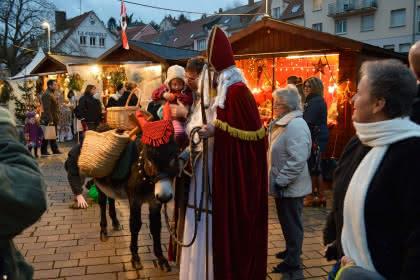 Rencontre avec Saint Nicolas, Alsace