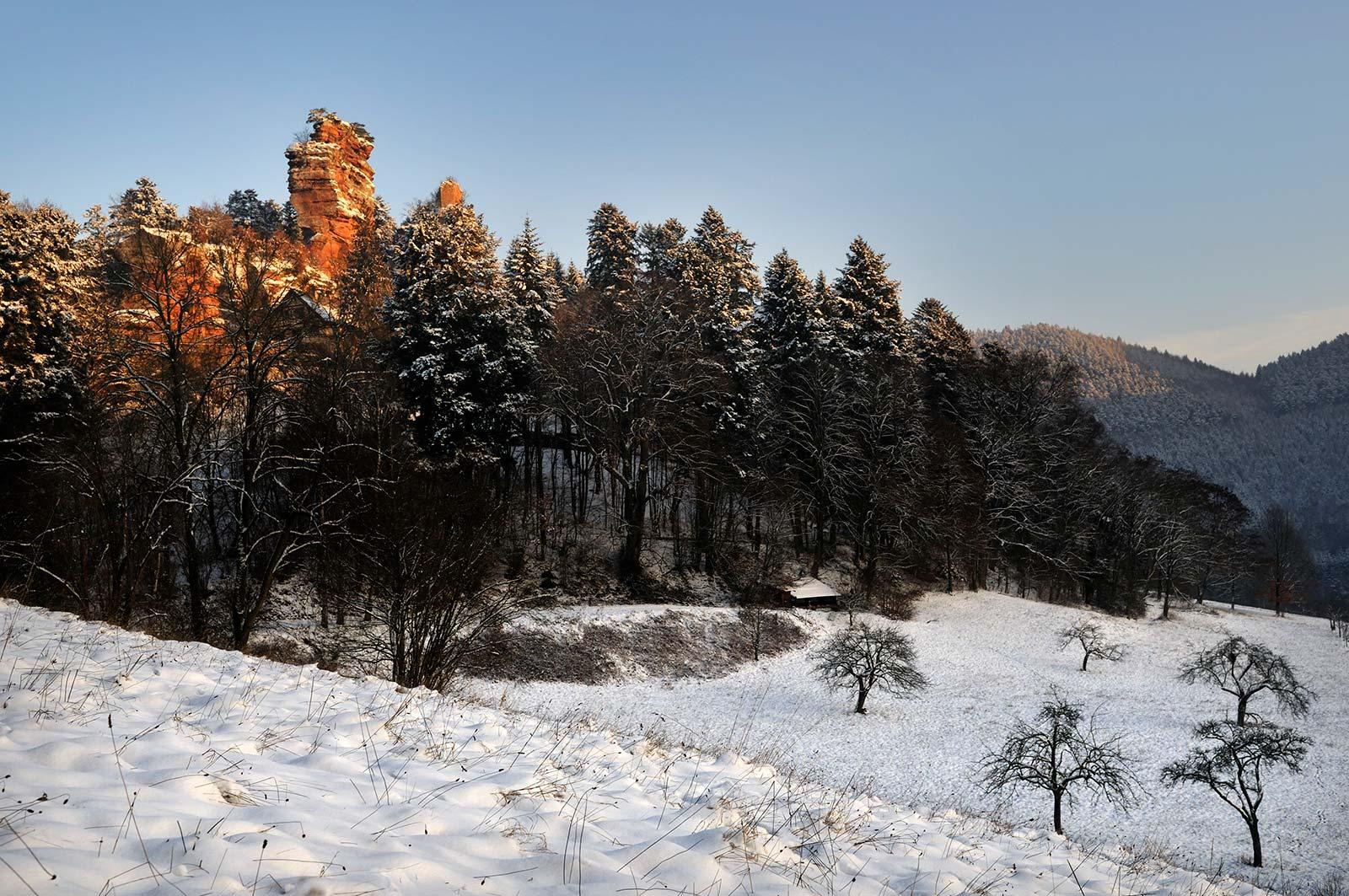 Balade à VTT, Windstein, Alsace