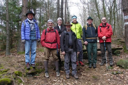 Randonnée du jeudi accompagnée par le club Vosgien, Niederbronn-les-Bains